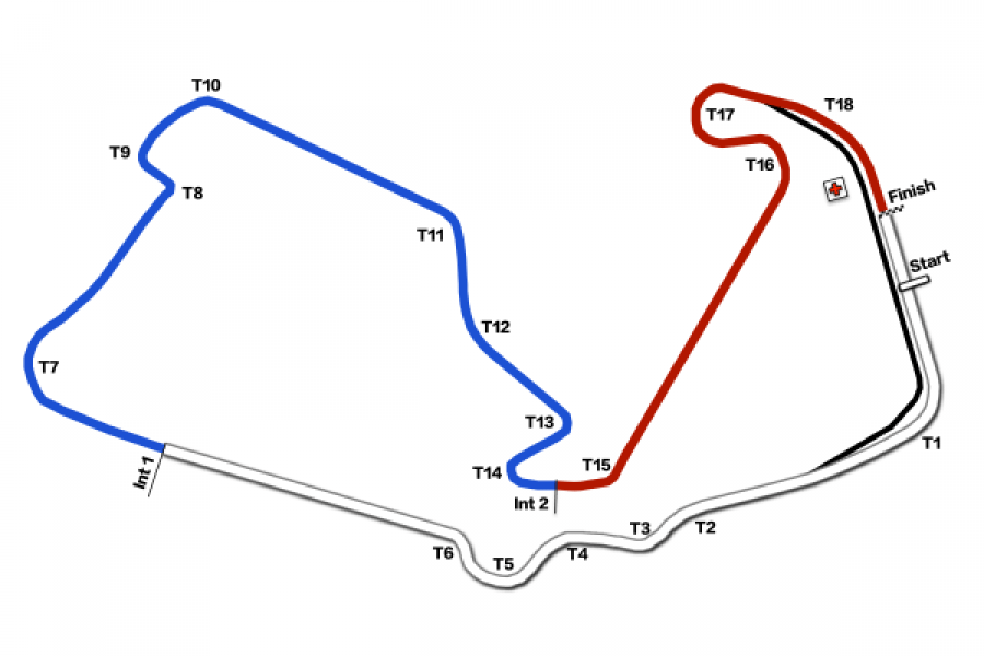silverstone trackmap | 1