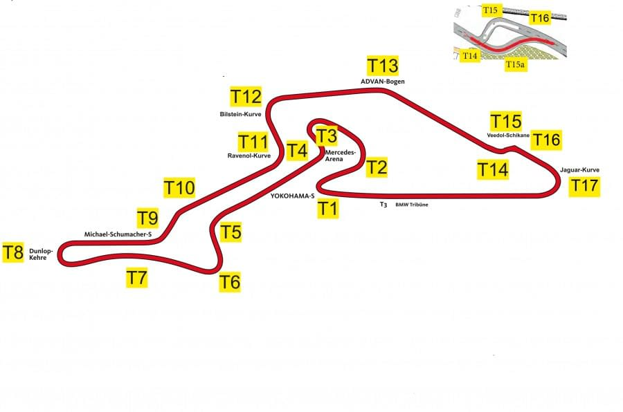 nurburgring trackmap | 1